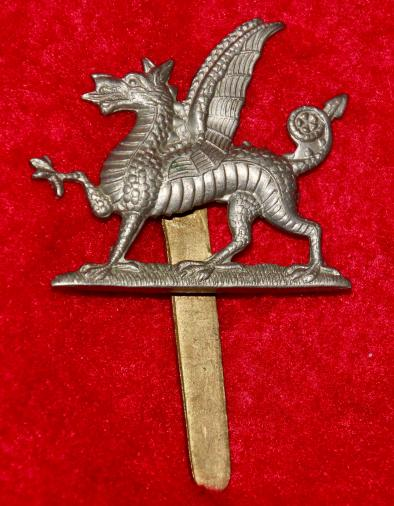 1st Monmouthshire Regt Cap Badge