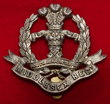 7-9th Middlesex Regt NCO's Cap Badge
