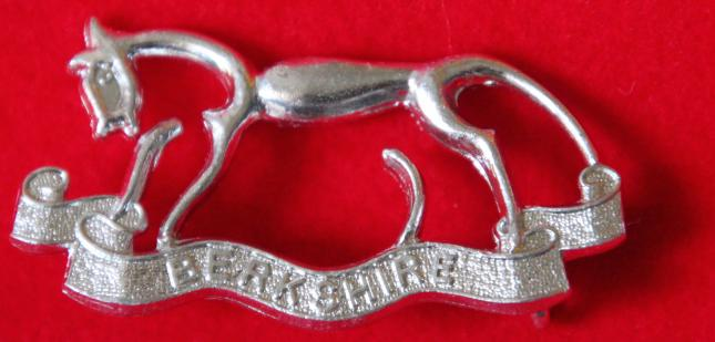 Anodised Berkshire Yeomanry NCO's Arm Badge