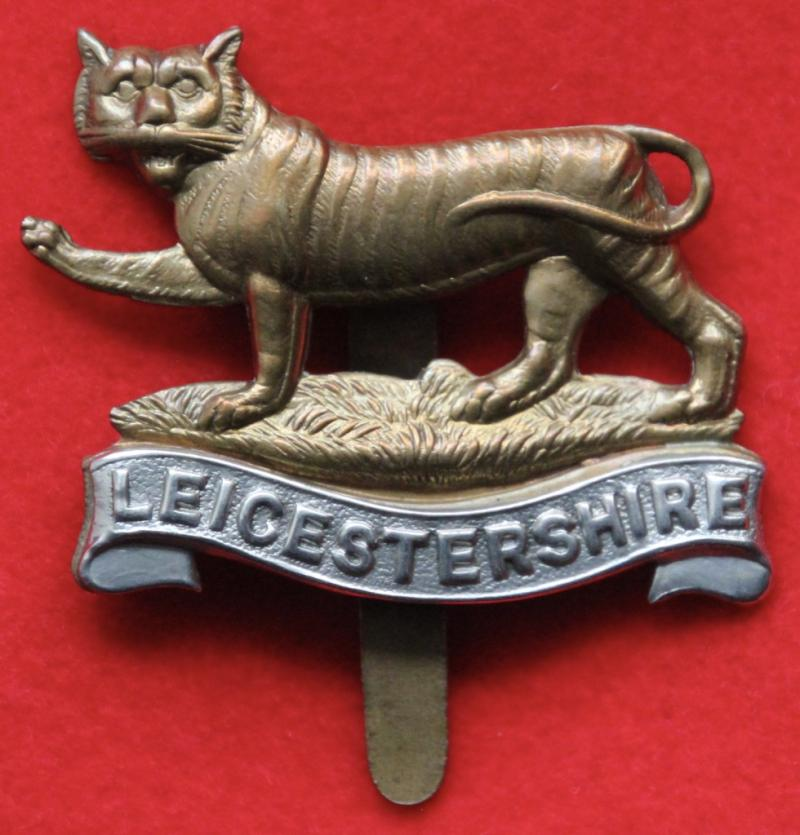 4th-6th Leicestershire Regt Cap Badge