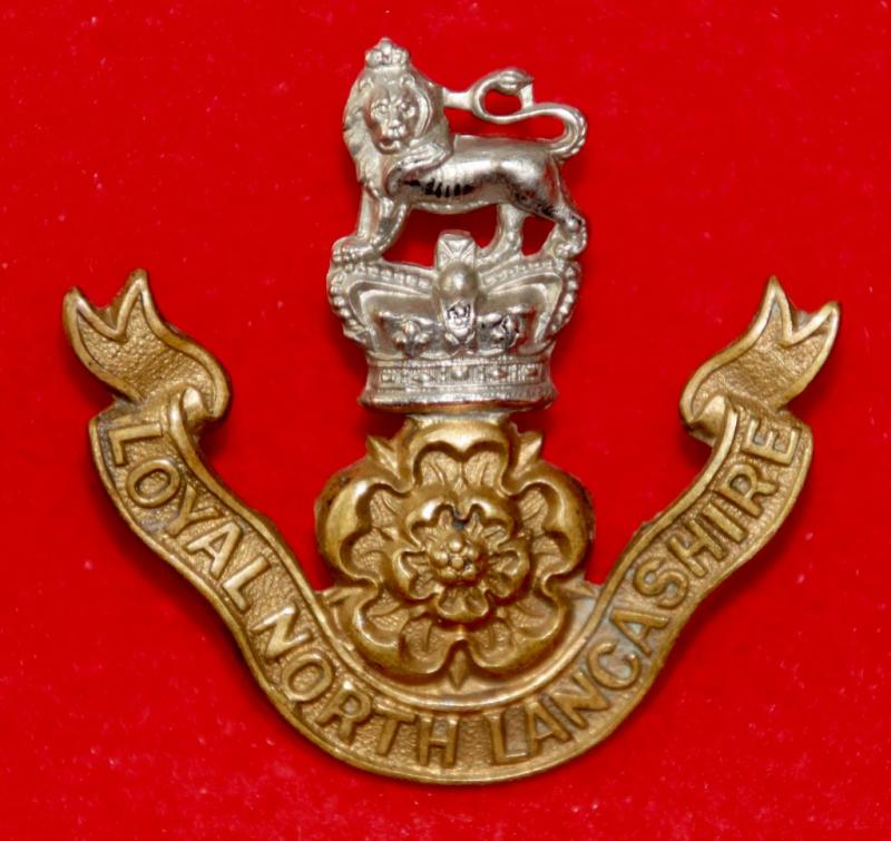 Victorian Loyal North Lancs Cap Badge