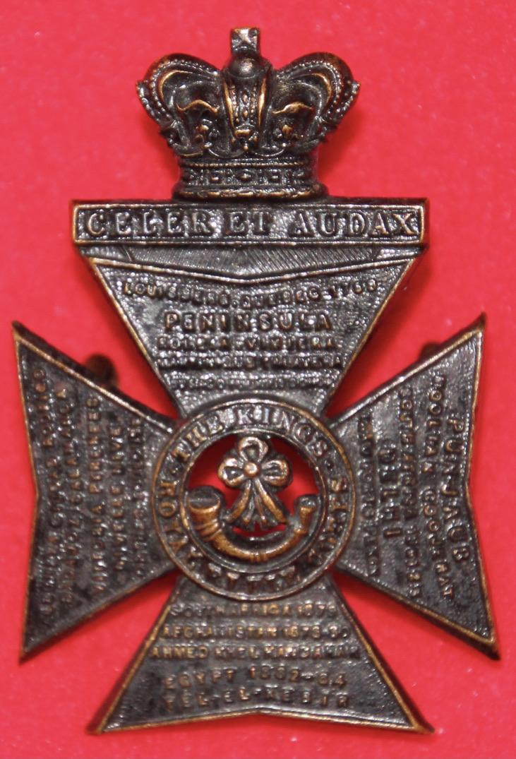 Victorian KRRC Cap Badge