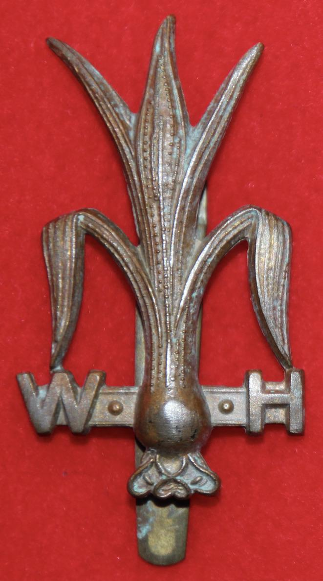 Welsh Horse Cap Badge