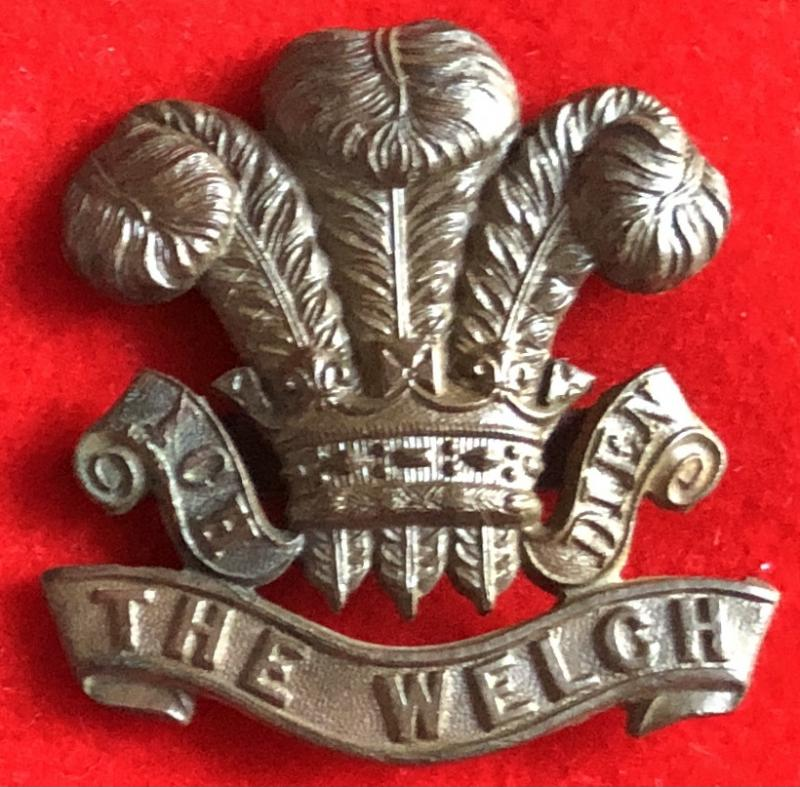 The Welch OSD Cap Badge